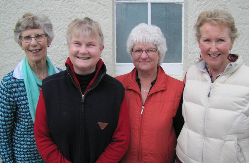 Judy Miller, Sheryll Hanning, Jenny Barr and Gayle Alvins, all of Clyde.