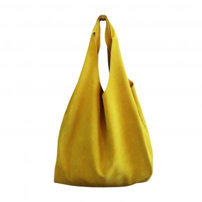 The Goods SOLEIL SUEDE SHOULDER BAG $299
