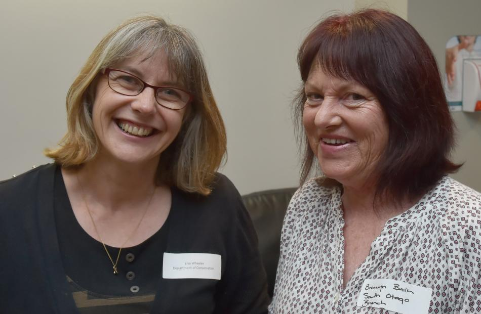 Lisa Wheeler, of Dunedin, and Bronwyn Bain, of Wanaka.