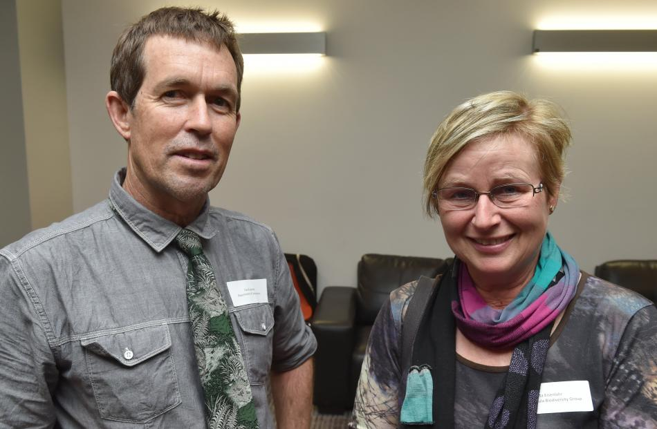 Dave Agnew and Marita Eisenlohr, both of Dunedin.