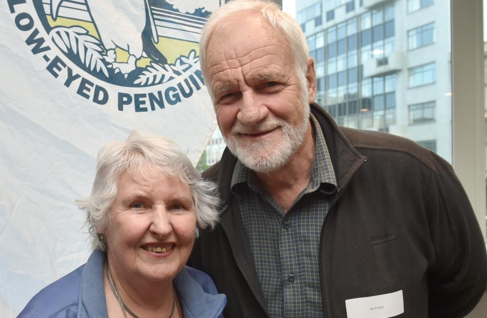 Lala and Ian Frazer, of Dunedin.