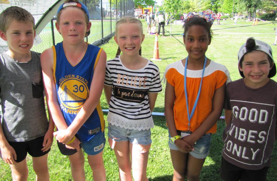 Thomas Patrick (10), Charlie Donaldson (10), Keira McFadyen (9), Kimberley da Costa (10) and...