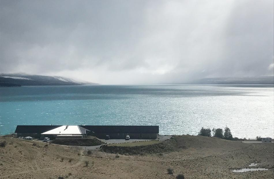 Lakestone Lodge at the head of Lake Pukaki has stunning views, whether it is bathed in sunshine,...