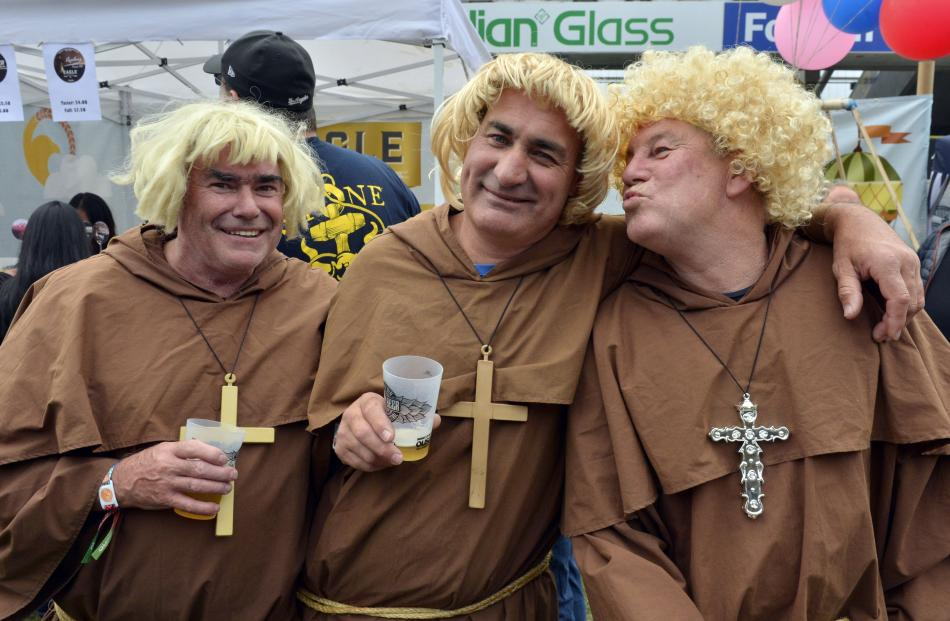 David O'Neill, of Nelson, Geoff Greer, of Dunedin, and Mark O'Brien, of Timaru.