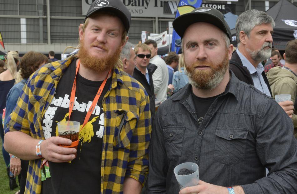 Sam Cooper and Greg Cooney, both of Dunedin.