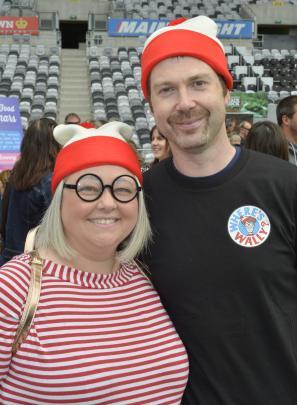 Sarah Moulton and Karl Billyard, both of Dunedin.