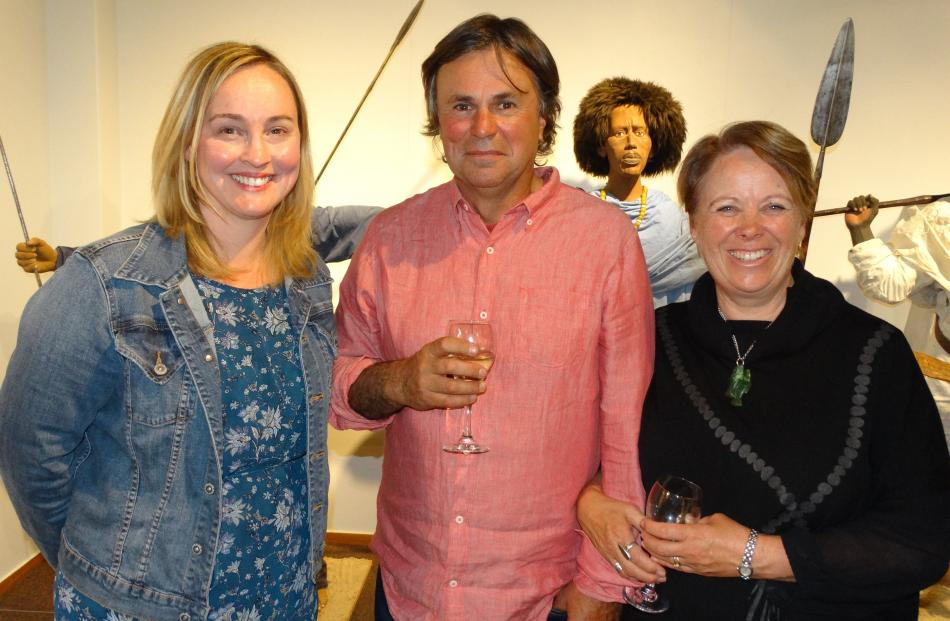Jane Peasey, of Arrowtown, Frank Varsanyi, of Dunedin and Wendy Clarke, of Arrowtown.