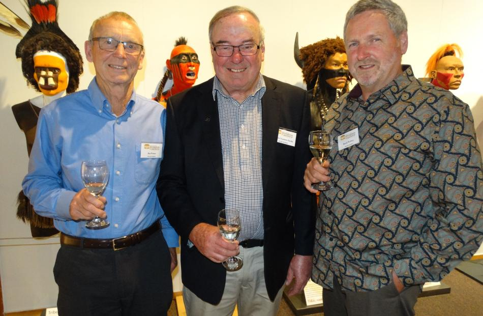 Jim Fraser, of Quail Rise Queenstown, Simon Stamers- Smith, of Arrowtown and David Wethey, of Quail Rise Queens town.