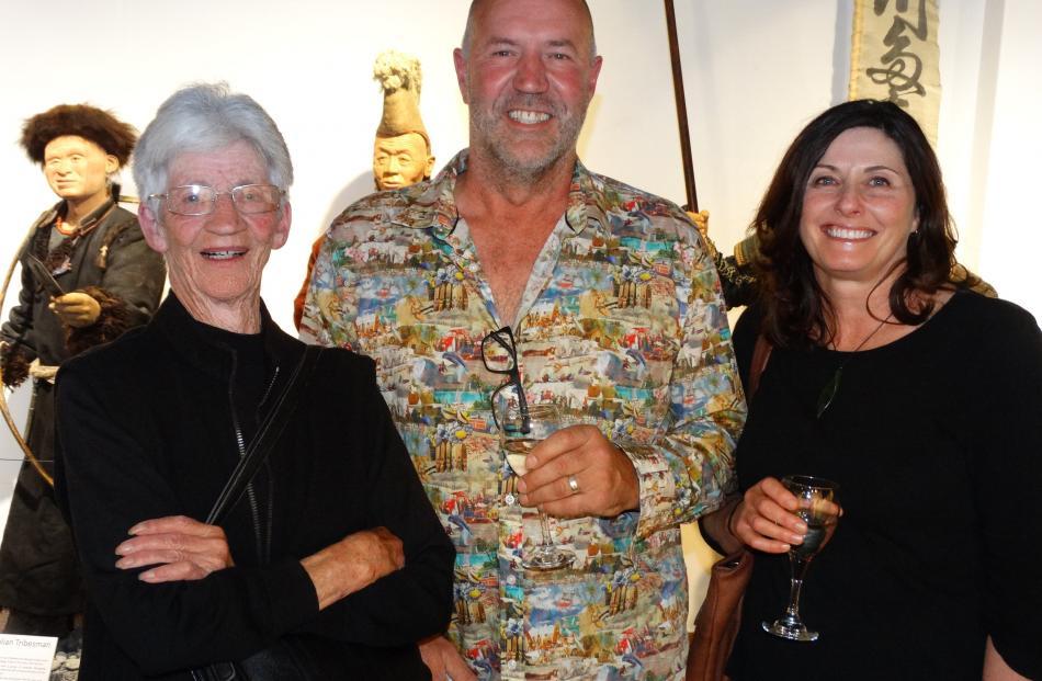 Dorothy, Grant and Angela Railton, all of Arrowtown.