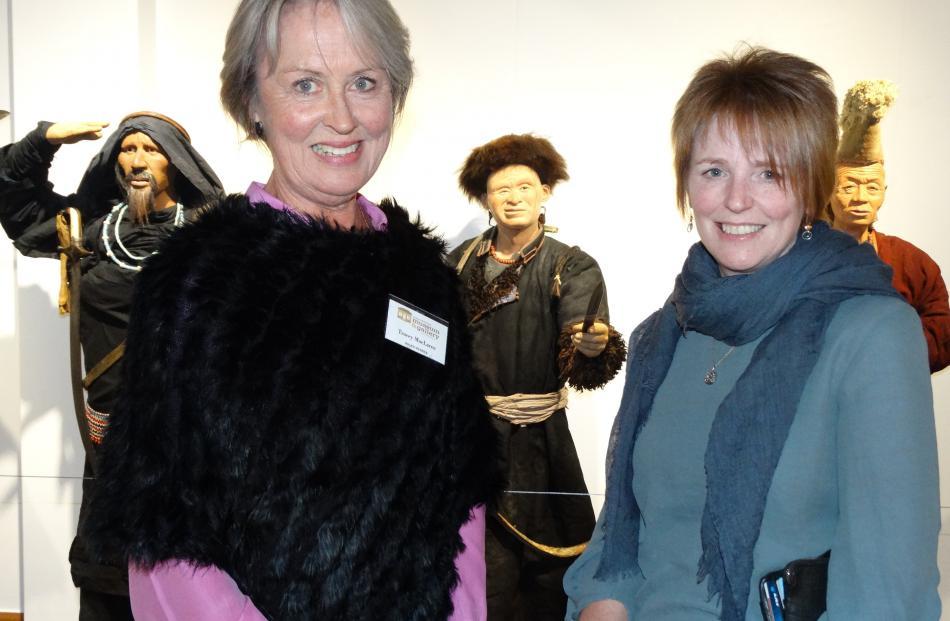 Tracey Maclaren, of Arrowtown and Judith Fentz, of Invercargill