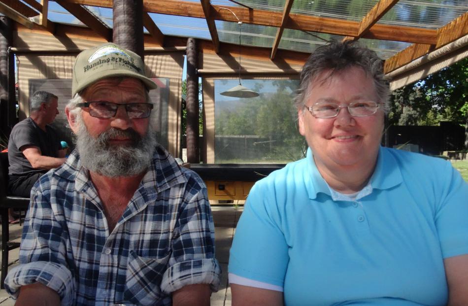 Owen and Raylene Rawcliffe, of Wedderburn.