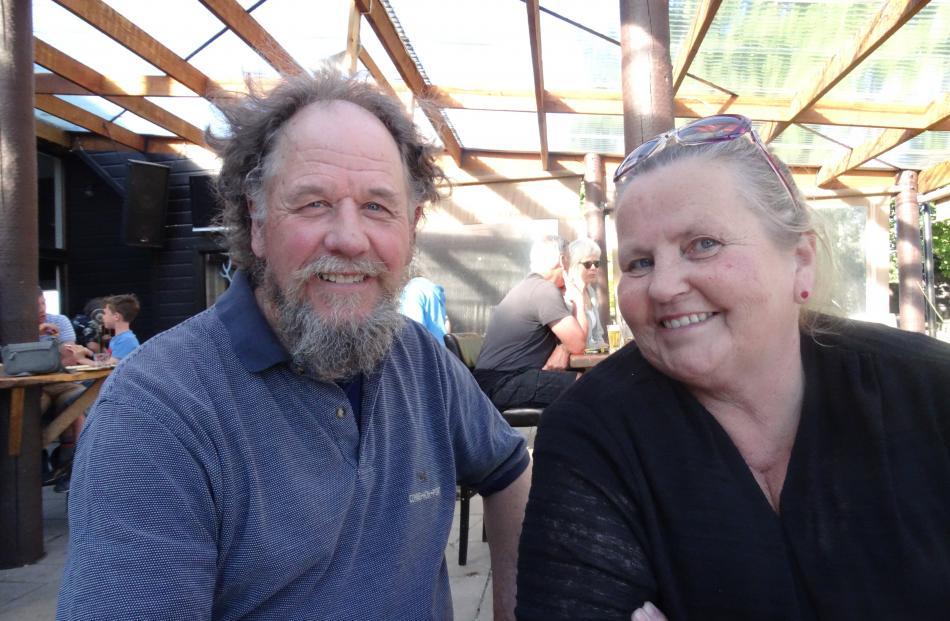 Brian and Dot Davidson, of Ranfurly.