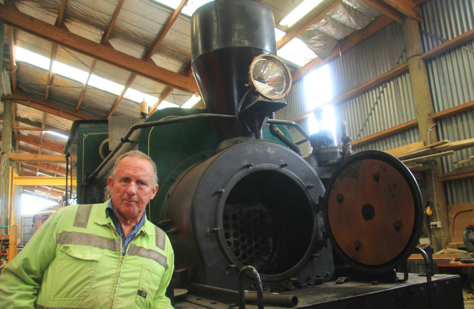 After three years without a functioning steam engine Oamaru Steam and Rail Society general manager Harry Andrew says this ``loco'' will be back in service within the year.