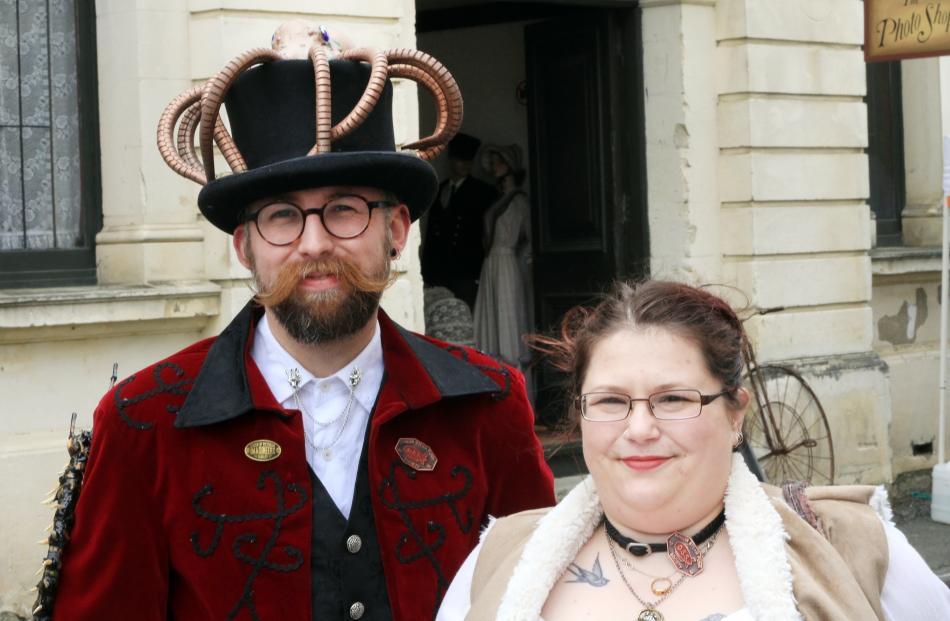 Bradley Fairbairn and Jackee Moore, of Dunedin.