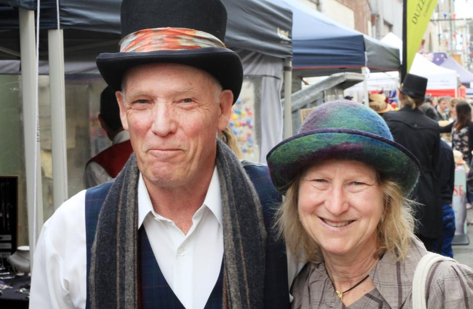 Peter and Coralie Burton, of Oamaru. PHOTO: HAMISH MACLEAN