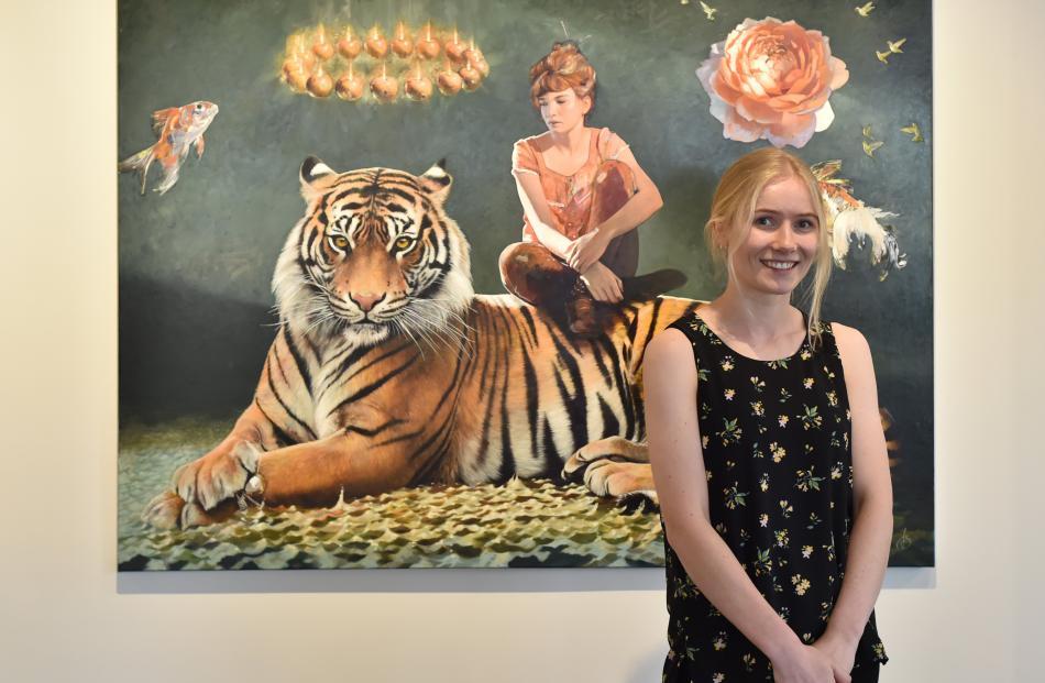 Jasmine Middlebrook is back and celebrating with her exhibition at Gallery de Novo. Photo: Gregor Richardson
