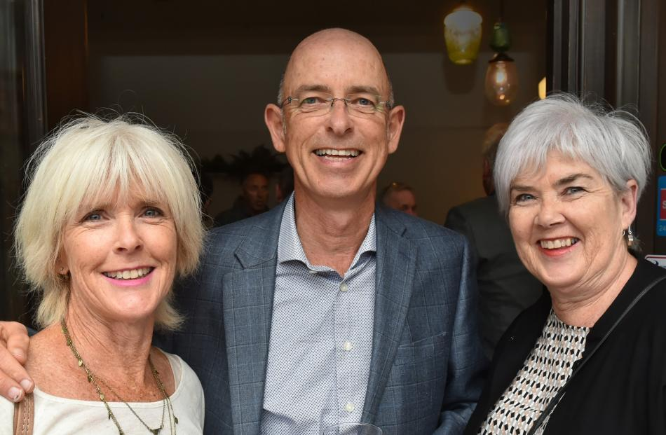 Jill Callon, John Marsh and Sue Mackinlay, all of Dunedin.