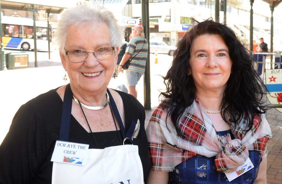 Sheila Wall, of Brighton, and Jennifer Evans, of Dunedin.
