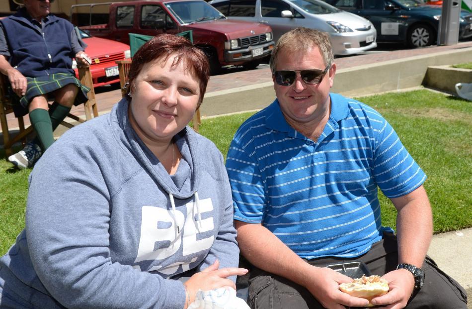 Hanna and Darryn Wilkie, of Dunedin.