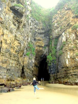 Cathedral Caves: These magnificent 30-metre-high caves are accessed via a path through a podocarp...