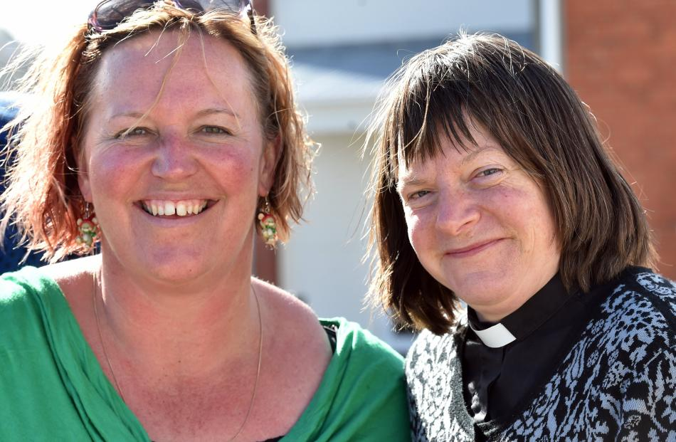 Jo Knowles and Jo Fielding, both of Dunedin.