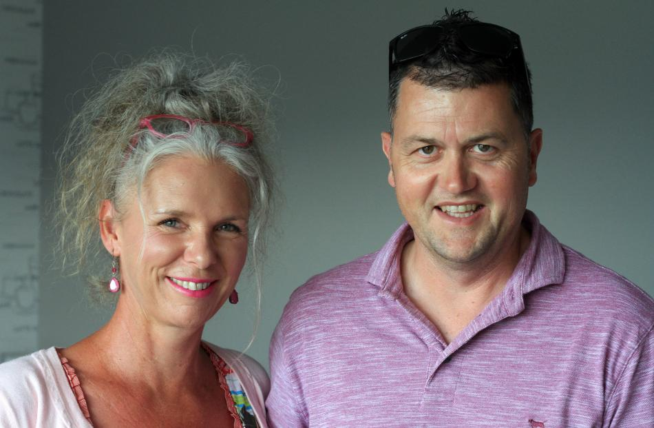 Anne-Marie and Michael Forgie, of Oamaru.