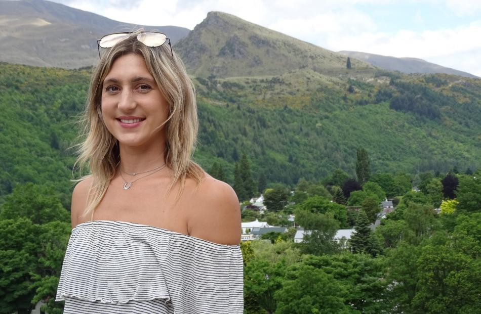 Caroline Walak has lived in Dunedin and Perth and travelled overseas, but the draw of Arrowtown always brings her home. Photo: Tracey Roxburgh