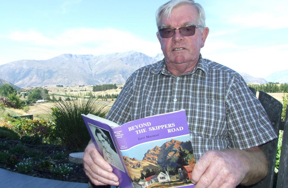 Colin Macnicol, of Arrowtown, often visited the Mount Aurum Homestead as a boy. Photos: Guy Williams
