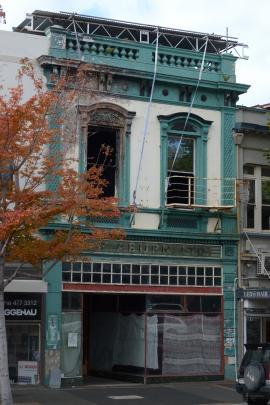 The former S.F. Aburn building damaged by fire six years ago. Photos: Gerard O'Brien