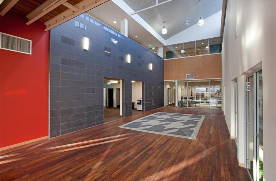 The NHNZ redevelopment in Dunedin by Baker Garden Architects. Photo supplied.