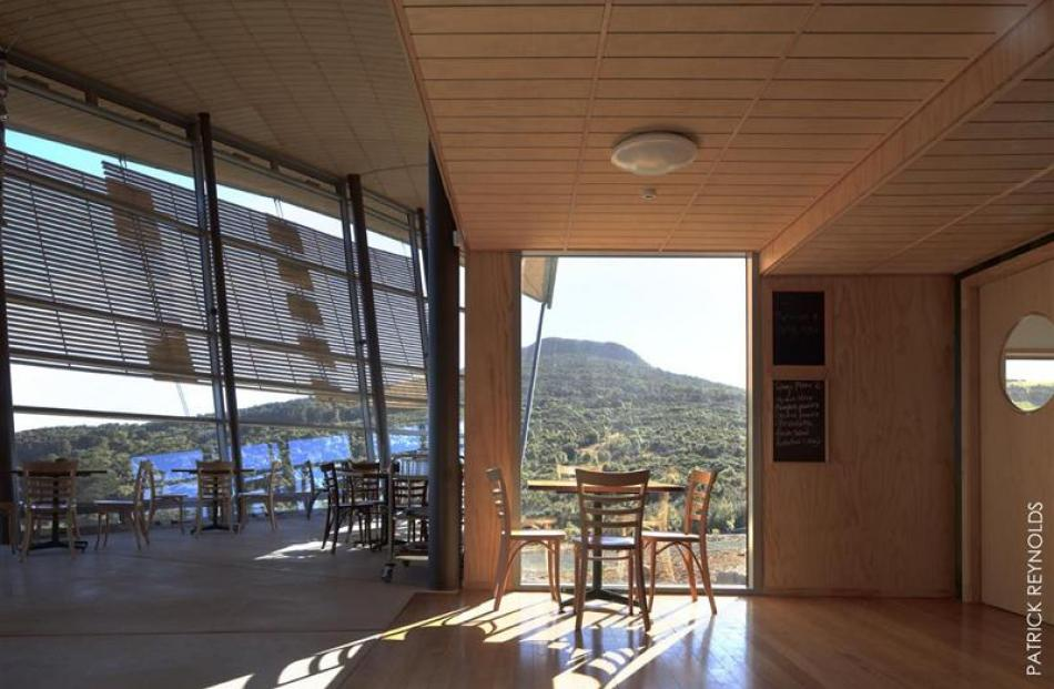 The Orokonui Ecosanctuary visitor centre by Architectural Ecology. Photo supplied.