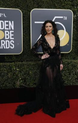 Actress Catherine Zeta-Jones is a presenter at this year's ceremony.