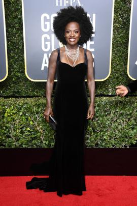 Viola Davis wearing Brandon Maxwell. Photo: Getty Images