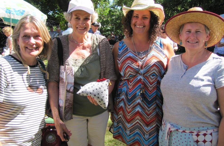Catherine Walker, of Milton, Kaye Black, of Ranfurly, Debbie Lerew, of Alexandra, Karen Brady, of Naseby.