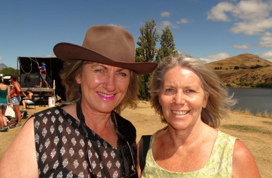 Karen Scott, of Kingston, and Rosie Thompson, of Arrowtown.