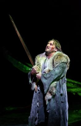 Simon O'Neill performs Wagner at the Royal Opera House. Photo: Supplied
