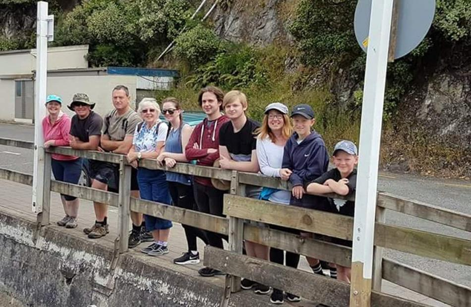 To celebrate her 80th birthday in 2018, Gloria Robinson took the whole family to Stewart Island...