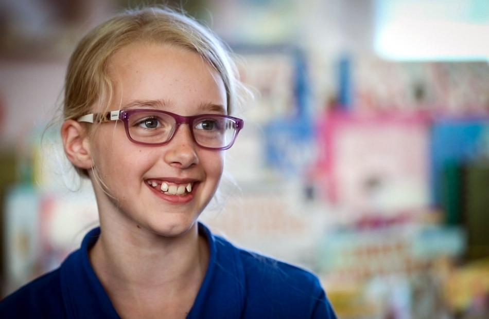 Haast Primary School student Lily Kain (9) shot her first deer when she was 7.