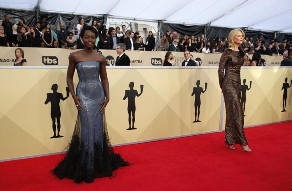 Lupita Nyong'o and Nicole Kidman.