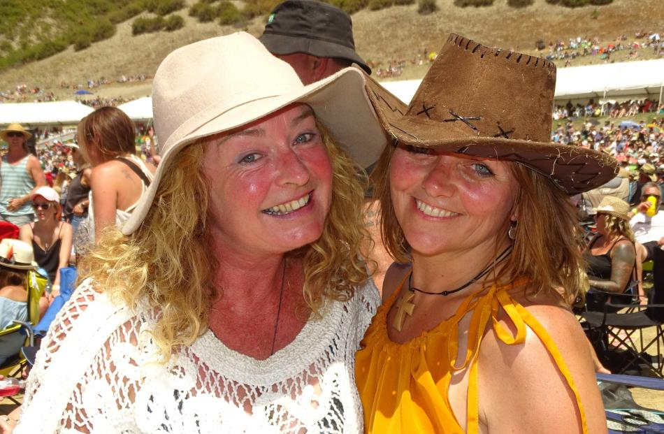 Nicole Bell and Julie Jolley, both of Queenstown.