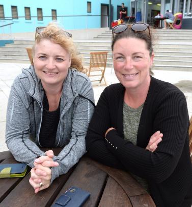 Melissa Golden and Melissa Kettish, both of Dunedin.