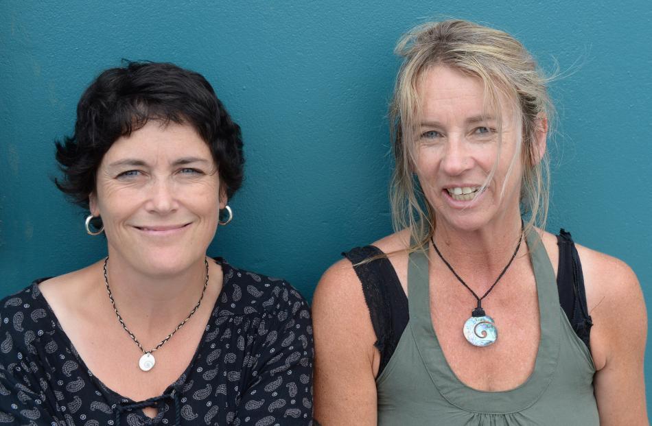 Justine Marshall and Rea Stout, both of Dunedin