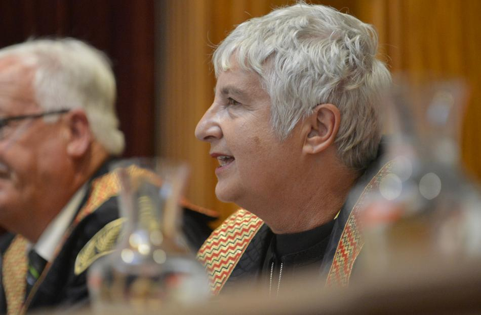 Dame Sian Elias paid tribute to the local law community, the Dunedin City Council and the ODT for...