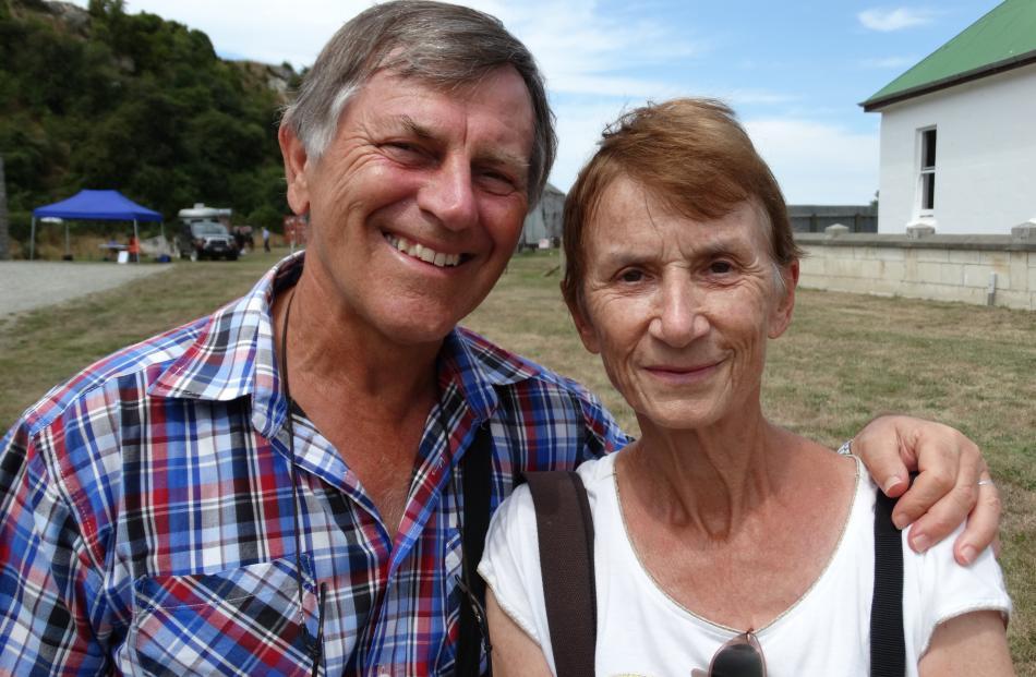 Daniel and Marianne Scheitlin, of Geneva, Switzerland.