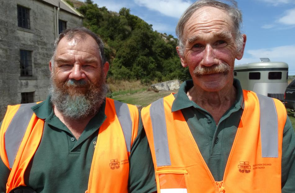 Jim Howden and Dave Clark, both of Oamaru.