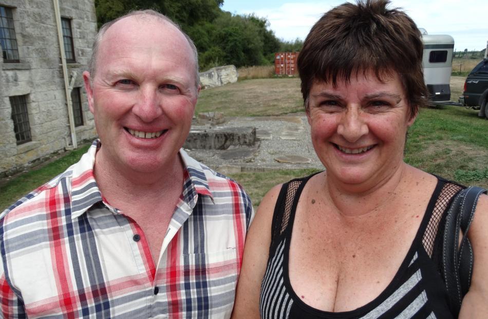 Peter and Leonie Robinson, of Oamaru.