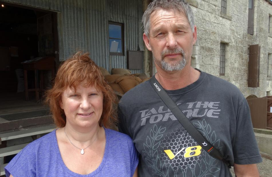 Karen and Andy Robson, of Mosgiel.