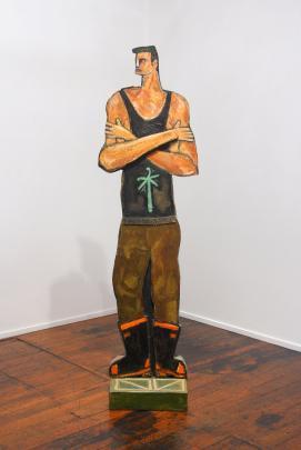 Ponga Man, by Nigel Brown