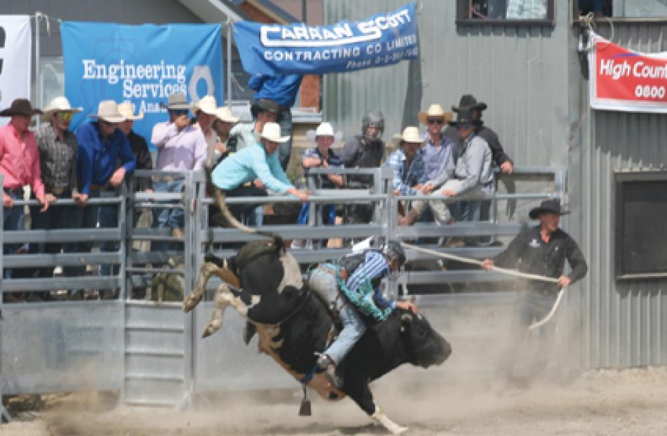 The Open Bull Ride event.