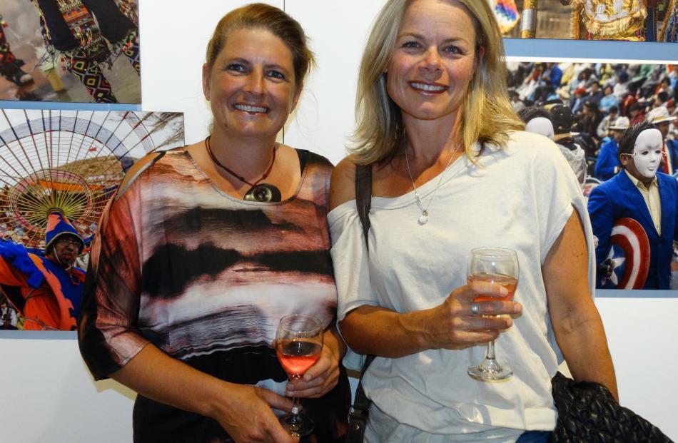 Jasmine Clark and Fiona Garlick, both of Arrowtown.